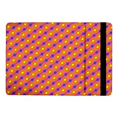 Vibrant Retro Diamond Pattern Samsung Galaxy Tab Pro 10 1  Flip Case