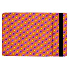 Vibrant Retro Diamond Pattern Ipad Air Flip