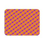 Vibrant Retro Diamond Pattern Double Sided Flano Blanket (Mini)  35 x27 Blanket Back