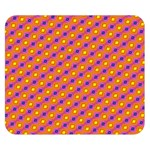 Vibrant Retro Diamond Pattern Double Sided Flano Blanket (Small)  50 x40 Blanket Front