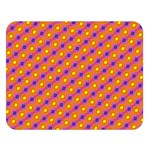 Vibrant Retro Diamond Pattern Double Sided Flano Blanket (Large)  80 x60 Blanket Front