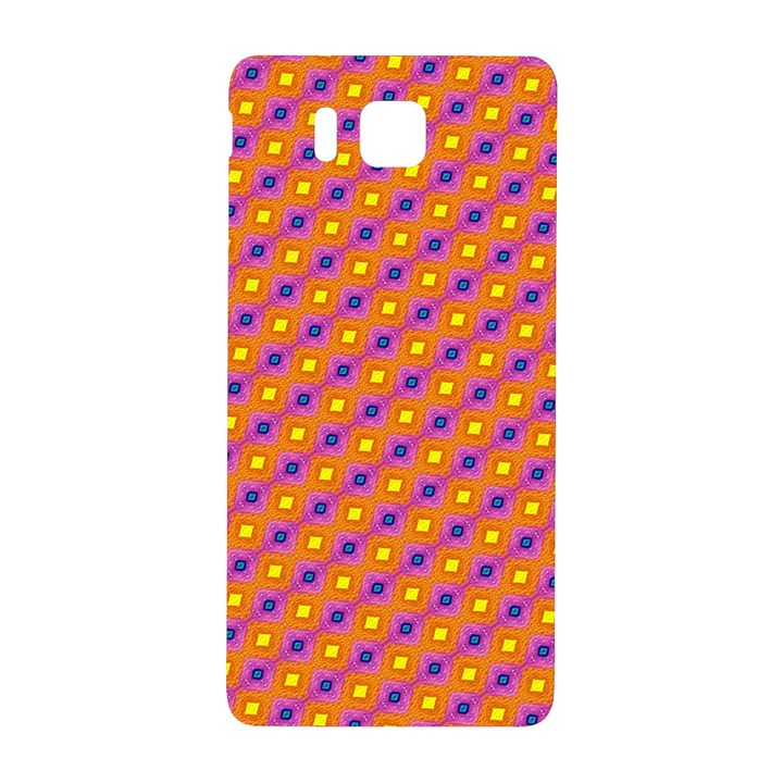 Vibrant Retro Diamond Pattern Samsung Galaxy Alpha Hardshell Back Case