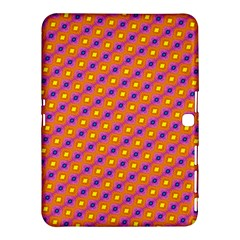 Vibrant Retro Diamond Pattern Samsung Galaxy Tab 4 (10 1 ) Hardshell Case