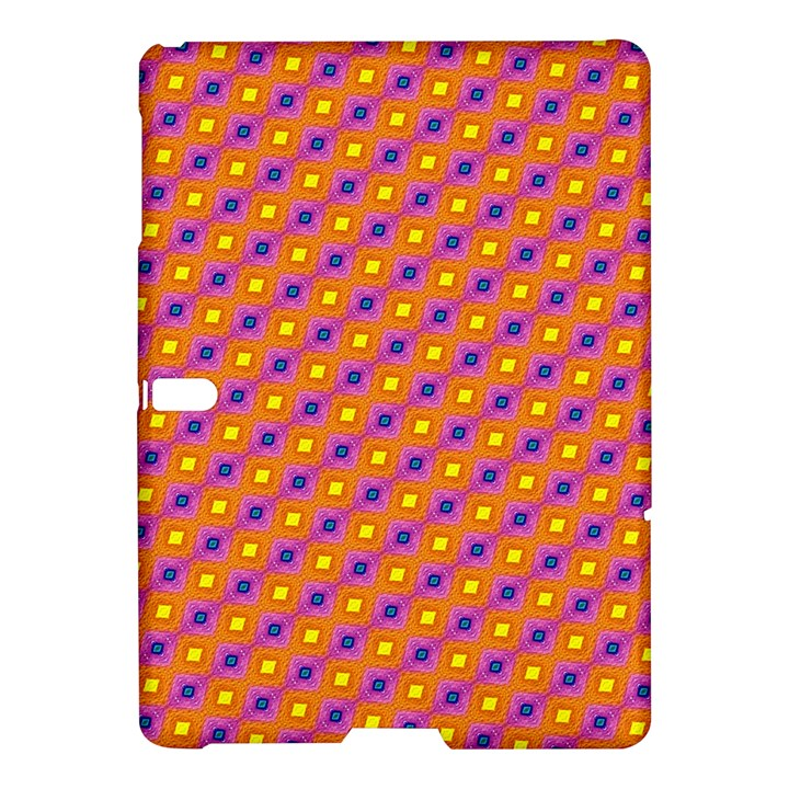 Vibrant Retro Diamond Pattern Samsung Galaxy Tab S (10.5 ) Hardshell Case