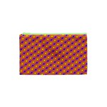 Vibrant Retro Diamond Pattern Cosmetic Bag (XS) Front