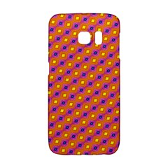 Vibrant Retro Diamond Pattern Galaxy S6 Edge