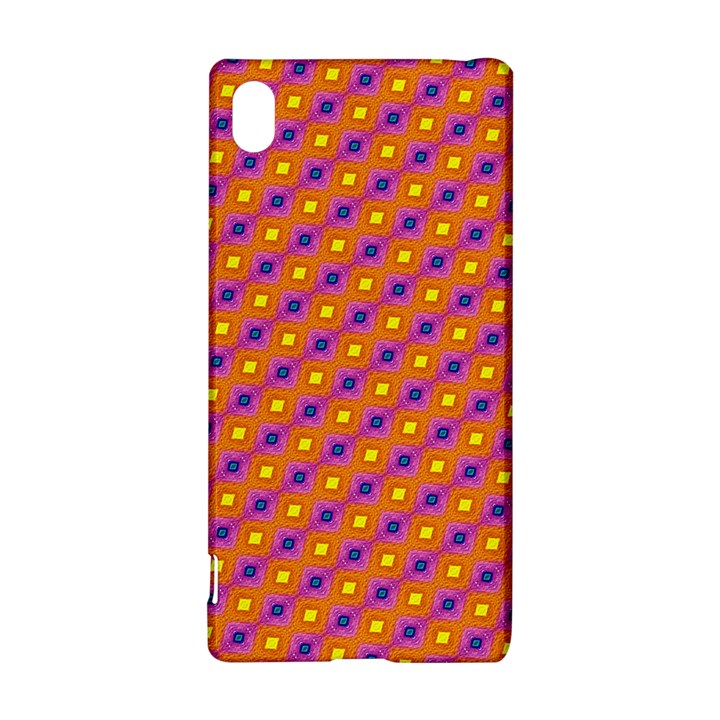 Vibrant Retro Diamond Pattern Sony Xperia Z3+