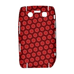 Red Passion Floral Pattern Bold 9700