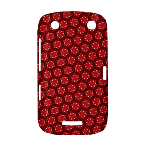 Red Passion Floral Pattern BlackBerry Curve 9380