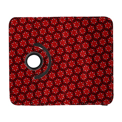 Red Passion Floral Pattern Samsung Galaxy S  III Flip 360 Case