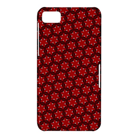 Red Passion Floral Pattern BlackBerry Z10
