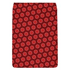 Red Passion Floral Pattern Flap Covers (S)