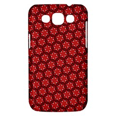 Red Passion Floral Pattern Samsung Galaxy Win I8550 Hardshell Case