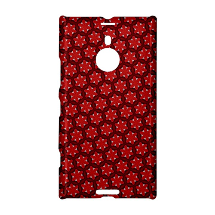 Red Passion Floral Pattern Nokia Lumia 1520