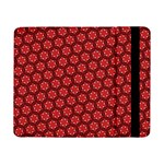 Red Passion Floral Pattern Samsung Galaxy Tab Pro 8.4  Flip Case Front