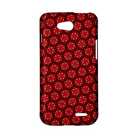 Red Passion Floral Pattern LG L90 D410
