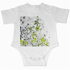 Floral Pattern Background  Infant Creepers