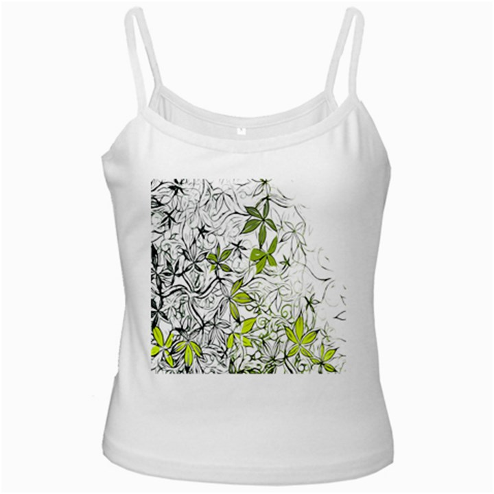 Floral Pattern Background  Ladies Camisoles
