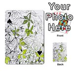 Floral Pattern Background  Playing Cards 54 Designs  Front - Spade7