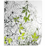 Floral Pattern Background  Canvas 8  x 10  10.02 x8 Canvas - 1
