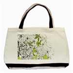Floral Pattern Background  Basic Tote Bag (Two Sides) Front