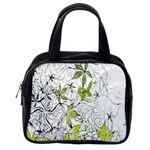 Floral Pattern Background  Classic Handbags (One Side) Front