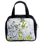 Floral Pattern Background  Classic Handbags (2 Sides) Front