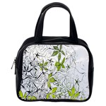 Floral Pattern Background  Classic Handbags (2 Sides) Back