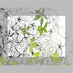 Floral Pattern Background  Mini Canvas 7  x 5  7  x 5  x 0.875  Stretched Canvas
