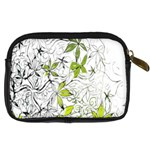 Floral Pattern Background  Digital Camera Cases Back