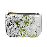 Floral Pattern Background  Mini Coin Purses Front