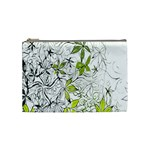 Floral Pattern Background  Cosmetic Bag (Medium)  Front
