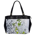 Floral Pattern Background  Office Handbags Front