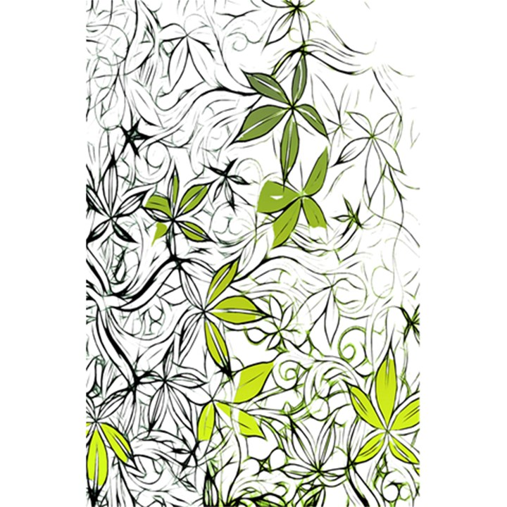Floral Pattern Background  5.5  x 8.5  Notebooks