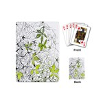 Floral Pattern Background  Playing Cards (Mini)  Back