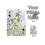 Floral Pattern Background  Playing Cards 54 (Mini)  Front - Club5