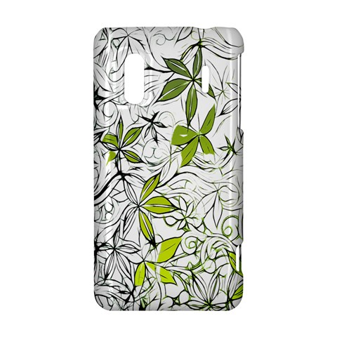Floral Pattern Background  HTC Evo Design 4G/ Hero S Hardshell Case