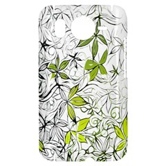 Floral Pattern Background  HTC Desire HD Hardshell Case