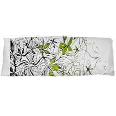 Floral Pattern Background  Body Pillow Case (Dakimakura)