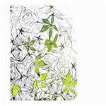 Floral Pattern Background  Large Garden Flag (Two Sides) Back