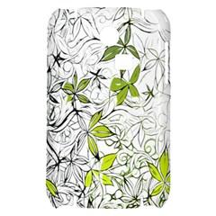 Floral Pattern Background  Samsung S3350 Hardshell Case
