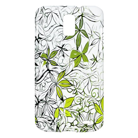 Floral Pattern Background  Samsung Galaxy S II Skyrocket Hardshell Case
