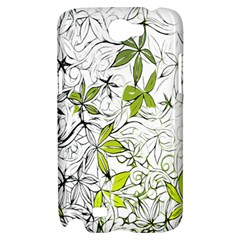 Floral Pattern Background  Samsung Galaxy Note 2 Hardshell Case