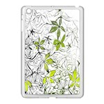 Floral Pattern Background  Apple iPad Mini Case (White) Front
