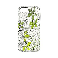 Floral Pattern Background  Apple iPhone 5 Classic Hardshell Case (PC+Silicone)