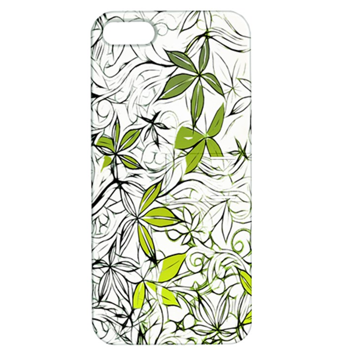 Floral Pattern Background  Apple iPhone 5 Hardshell Case with Stand