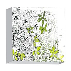 Floral Pattern Background  5  x 5  Acrylic Photo Blocks