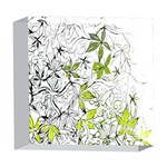 Floral Pattern Background  5  x 5  Acrylic Photo Blocks Front