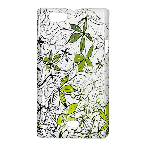Floral Pattern Background  Sony Xperia Miro