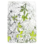 Floral Pattern Background  Flap Covers (S)  Front